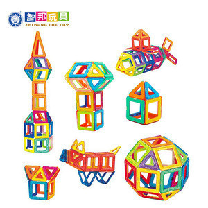 EN-71 ASTM Certifications Learning toy plastic magnetic building blocks with running ball,early learning toys