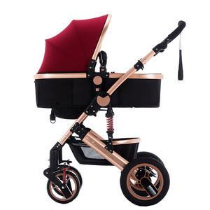 Factory wholesale luxurious new baby stroller kids pram