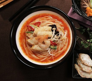 [Goraesa] 100% Fresh and Healthy Fish Cake Glueten free Spicy noodle with seafood made by Korea
