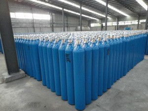 High pressure gas cylinders oxygen cylinders o2 gas cylinders