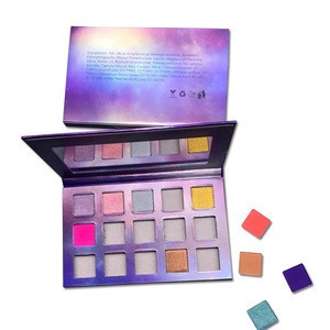 Hot new products beauty cosmetic star glitter eyeshadow palette makeup