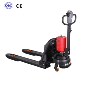 Hot sale high quality pallet truck 2 ton HELI battery powered pallet jack with lithium battery for material handling