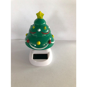 Hot selling sola auto car solar powered dancing Christmas theme solar dancing car decorations toys