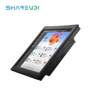 IP67 IP69 Factory OEM RS485/RS232 All in One Desktop Intel N2840/J1900/i3/i5 15/17 inch Touch Screen Panel Fanless Industrial PC