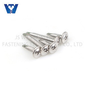 K-LATH Stainless Steel 304 316 Wafer Modify Truss Head Phillips Recess Self Drilling Screw