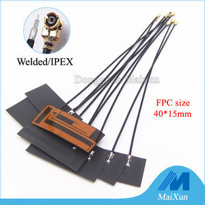 LTE 4G 3G 2G GSM CDMA full band flexible internal patch FPC antenna with RF1.13 cable IPEX U.fl connector