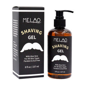 Manufacture Private Label Shave Beard Shaving Gel Low MOQ