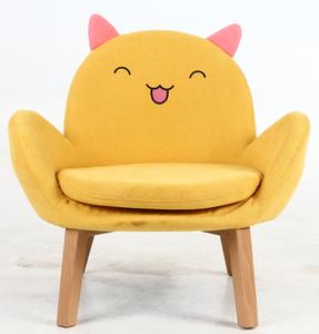 New design kids soft baby sofa chair plush cartoon animal shape children sitting sofa