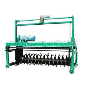 Organic fertilizer compost turner machine in composting fertilizer machine