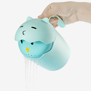 Plastic Garden Cute Animal Watering Small Cans Baby Bath Toys for Kids