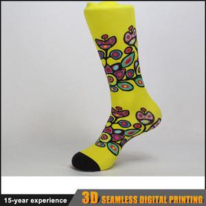 Promotion soft comfortable 3d eco hosiery custom logo sport cycling running socks