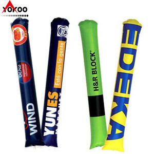 Sports noise maker, inflatable clapper sticks, bangbang stick for cheering