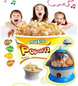 Stainless steel commercial popcorn maker/transparent popcorn maker