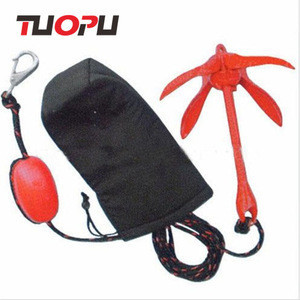 Stainless steel  Kayak  Anchor Drop in Folding Anchors