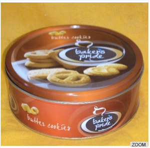 Tins to pack butter danish cookies