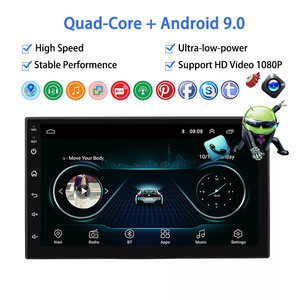 Universal Car Stereo Android 16G ROM Night Rear Cameras Online Car CD Player