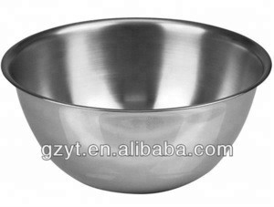 Wholesale Kitchen Set Stainless Steel Mixing Bowl