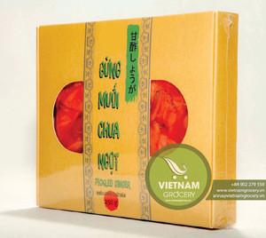 Wholesale Price For Vietnam Pickled Gari Ginger for Sushi 250gr -  Marine Supply