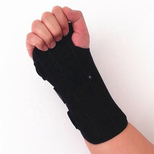 Wrist Brace Splint Aluminum Bar Supporting the Injury Wrist