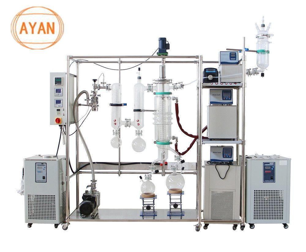 CBD oil 2L glass Thin film molecular distillation