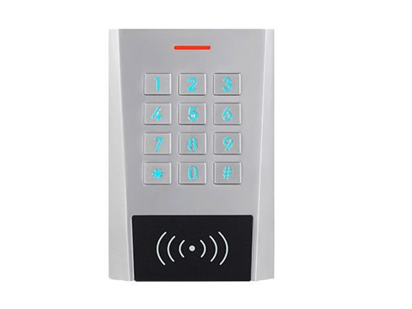 Waterproof Standalone Two-Relay Keypad with Built-in EM Reader