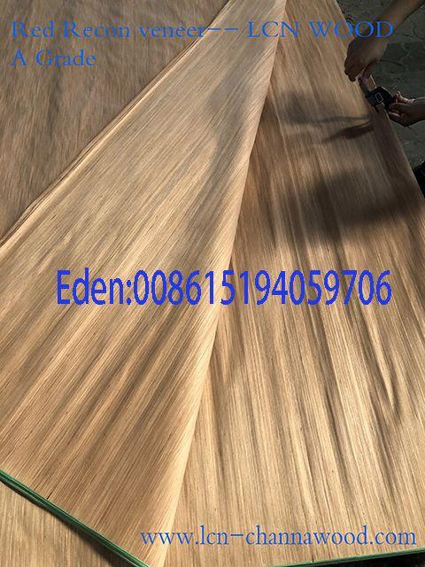 Cut veneer red recon veneer 0.30mm the best price
