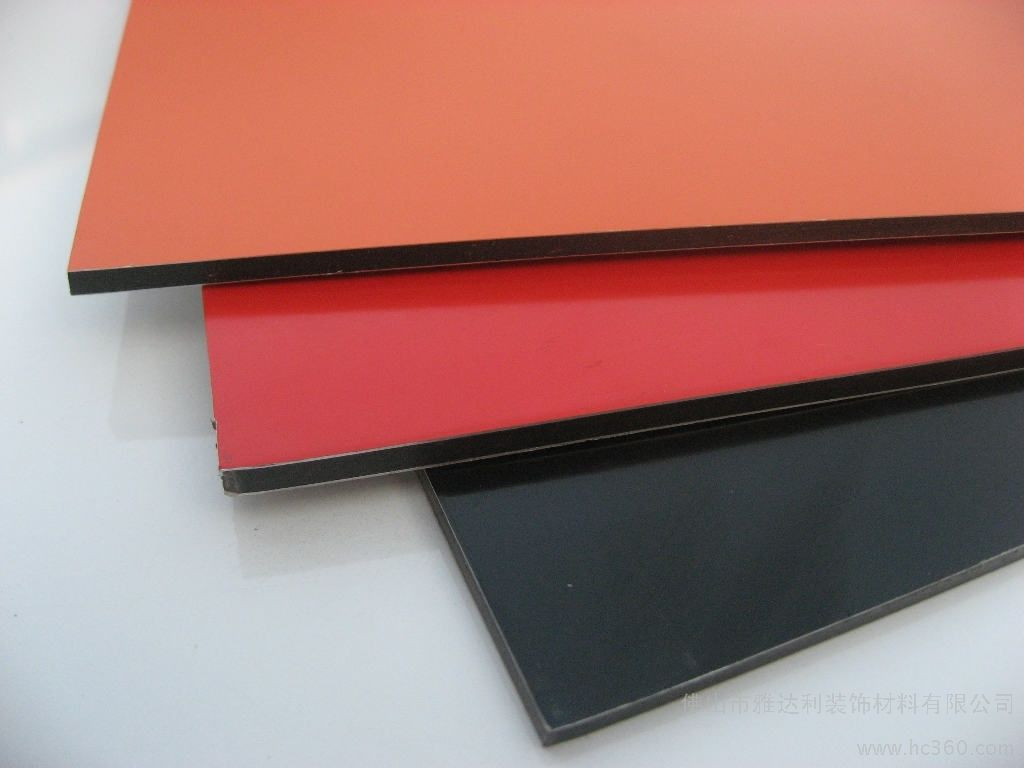 PVDF 4MM Aluminum composite panel