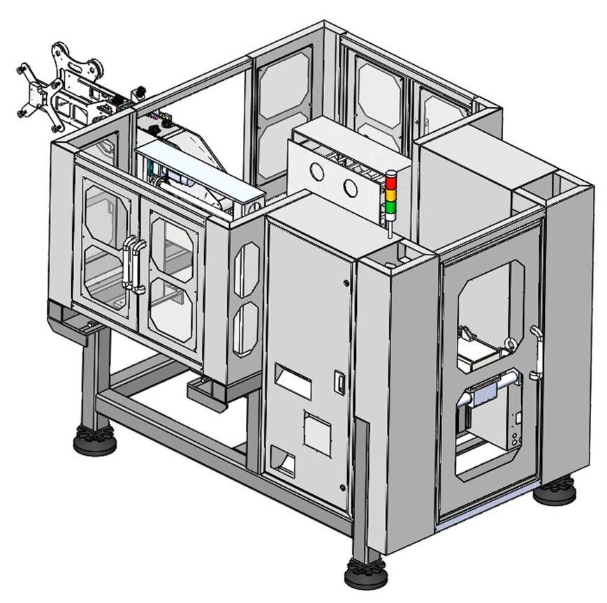 Side Entry In-mold Labeling Robot