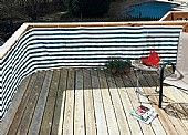 HDPE Balcony Privacy Screen