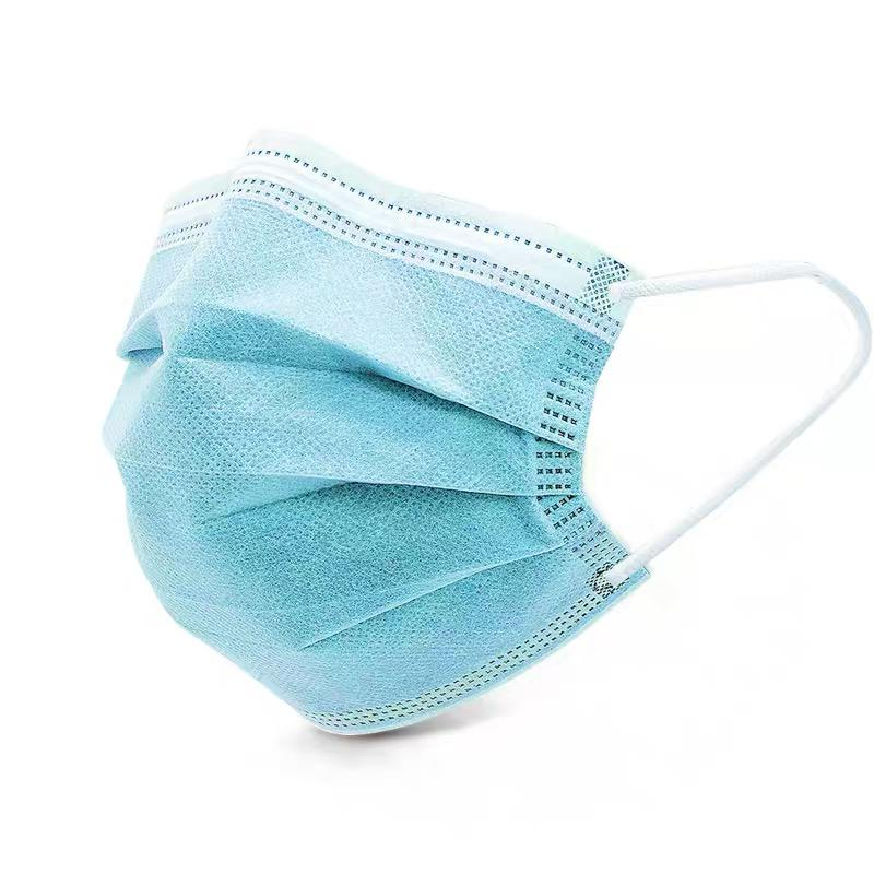 Import 3-Layer face Mask, Anti Disposable Earloop Mouth,Surgical Medical mask from China