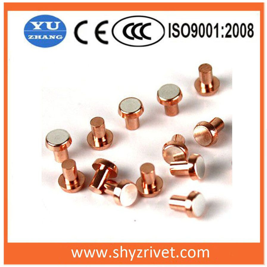 Bimetal contact for wall switch