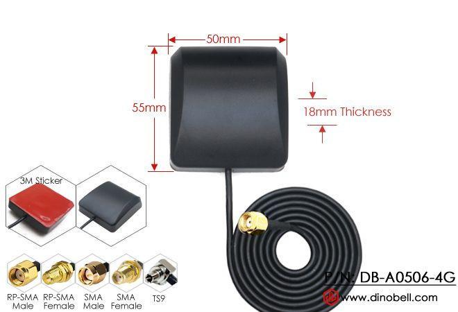 5dBi LTE 4G Adhesive Mount Antenna DB-A0506-4G