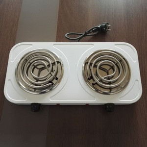 2 burner kitchen use electric solid hot plate