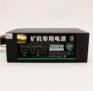 2000w atx computer pc power supply with 6/ 8 GPU