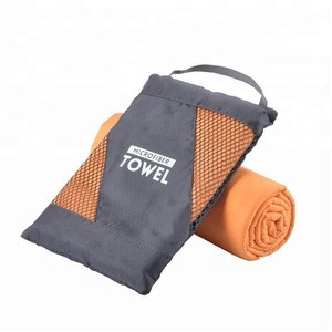 2018 OEM new products Microfiber Suede mini golf towel made in china