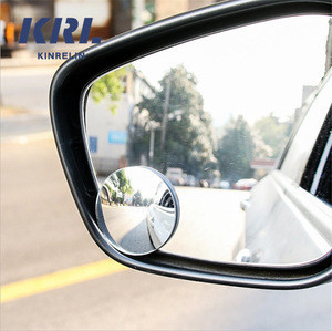 360 Rotation Adjustable Car Blind Spot Side View Mirrors for Driver