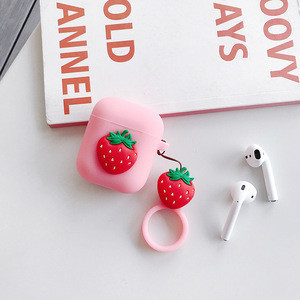Amazon hot sell earphone accessories silicon case for airpods