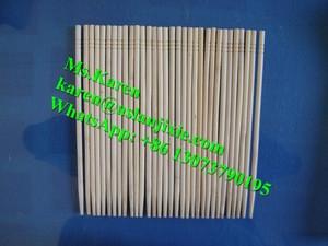 Bamboo round sticks machine / toothpick making production line / wood chopsticks making machine