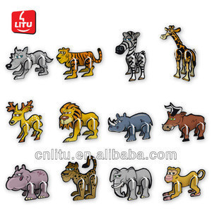 Best Promotion Item Animal collection puzzle Candy toy