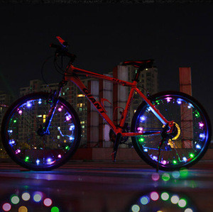 Bicycle Riding LED Wheel String light /LED String light for bicycle spoke wheel