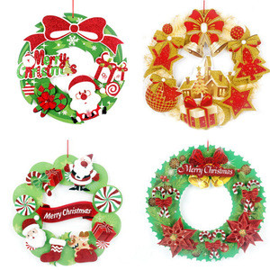 BX529 2020 New Arrivals Christmas Window Clings Decal Wall Stickers Merry Christmas