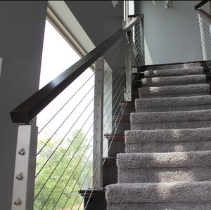 Cable railing systems cost rope railing hardware tension wire balustrade
