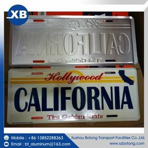 Cheap prices U.S.A car license plate