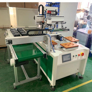 China cheap station silk screen printing machine for industrial machines