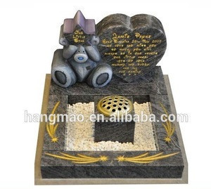 Chinese Granite Tombstone And Monument