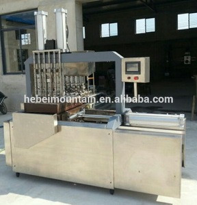 Commercial Automatic Pizza Snow Cone Baking Machine Price For Making Wafer Ice cream Cone