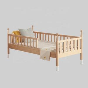Custom Service kids beds Bedroom Furniture Modern Wooden Children Bed Design Single Cot Bed
