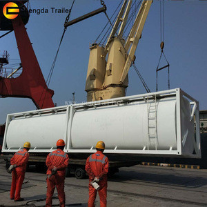 Factory 40FT T75 UN Portable Price ISO Tank Containers