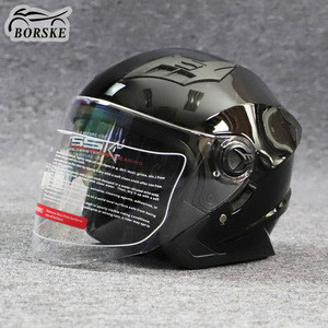 Factory DOT Certified Half Face Motorcycle Helmets Scooter Motorbike Motocross Helmet