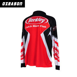 Fishing Clothes, Sublimation High Quality Fishing Wear, Blank Fishing Jerseys